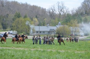 2014 Skirmish at Jeffersonville Civil War Reenactment @ Crab Orchard Museum