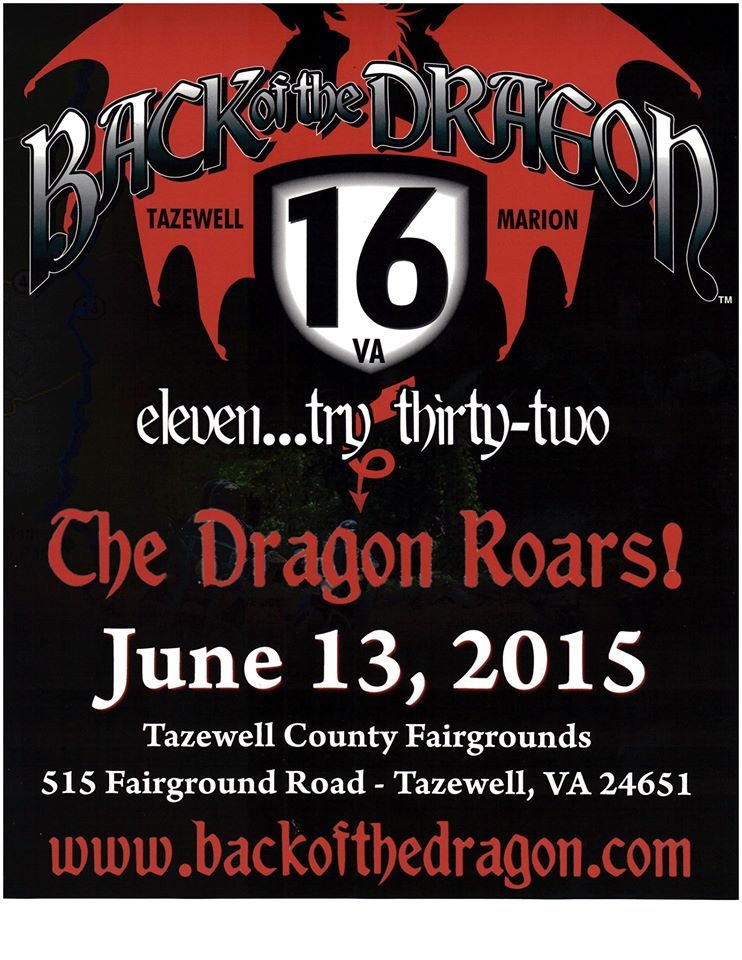 Back of the Dragon 2015