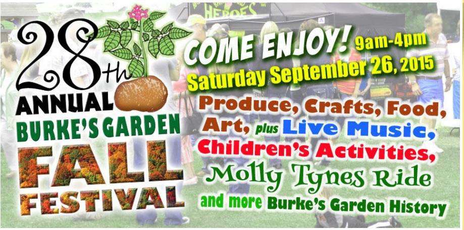 Burkes Garden Festival 2015