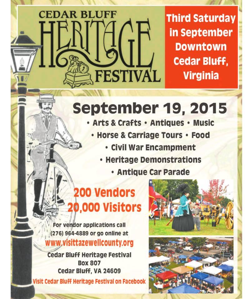 Cedar Bluff Heritage Festival 2015