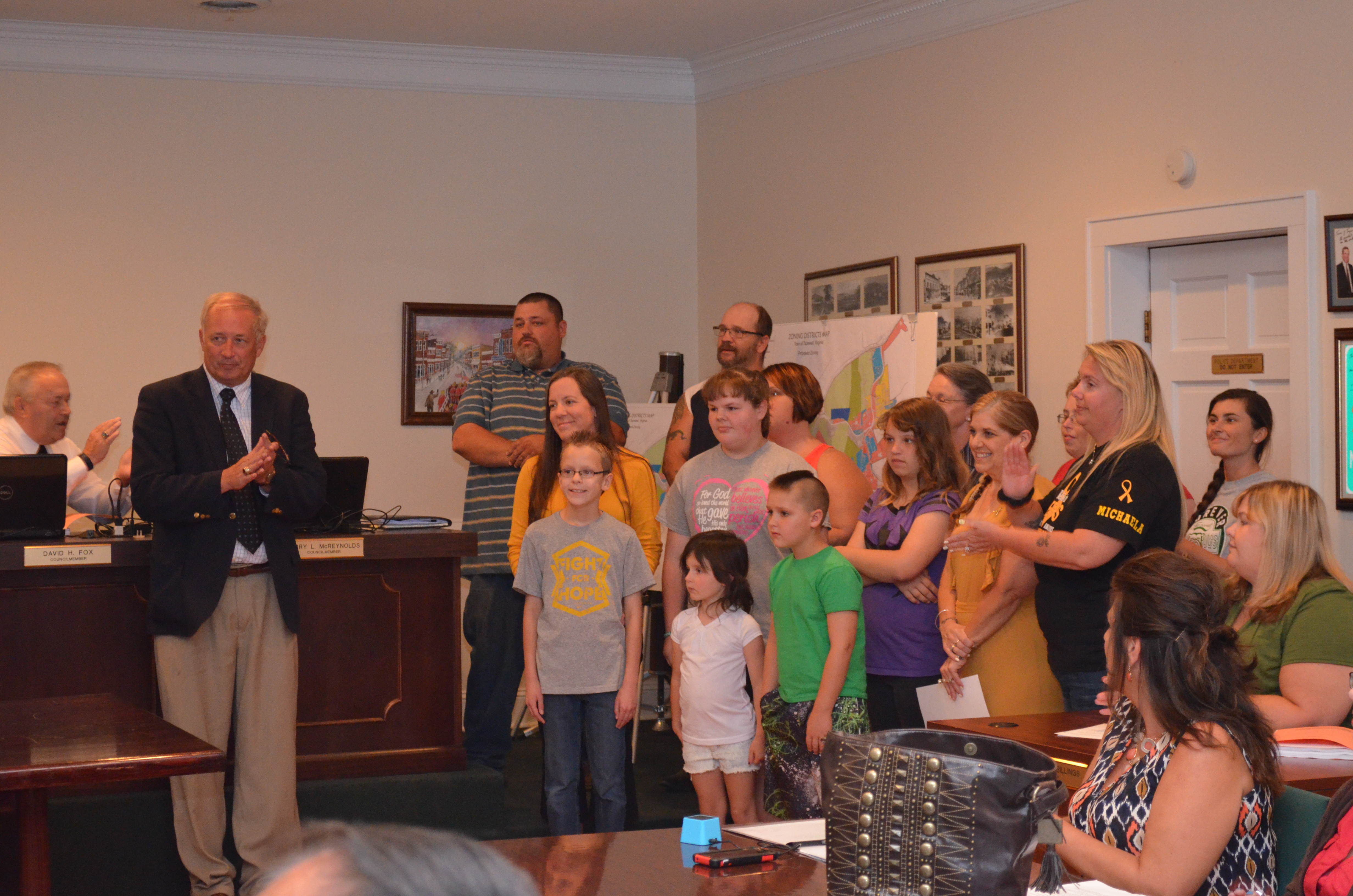 Recognition of Childhood Cancer Awareness month in September