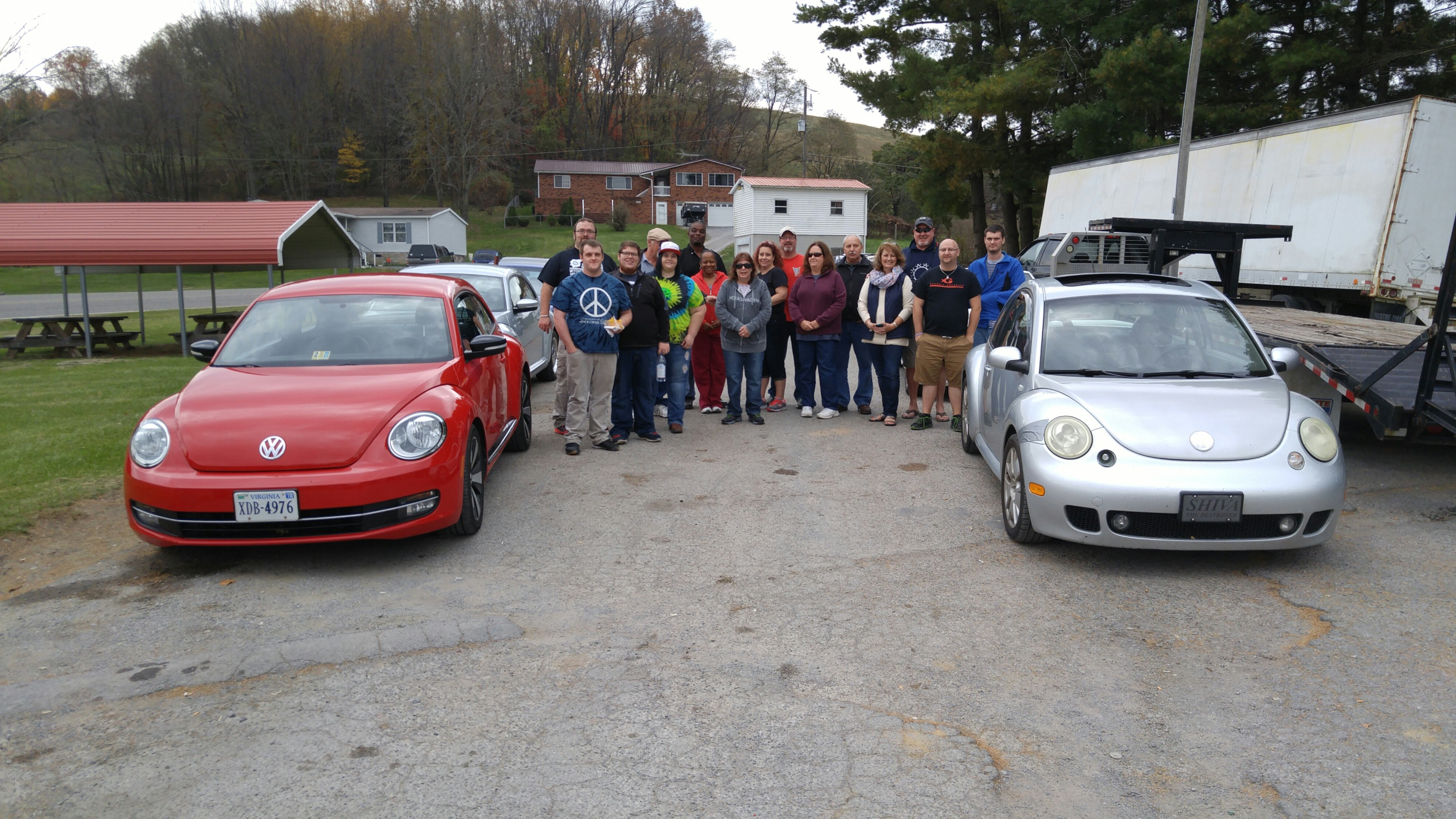 Annual Back of the Dragon touring group from several states