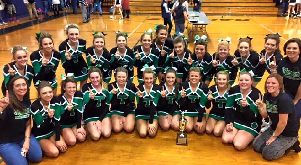 Cheerleader regionals