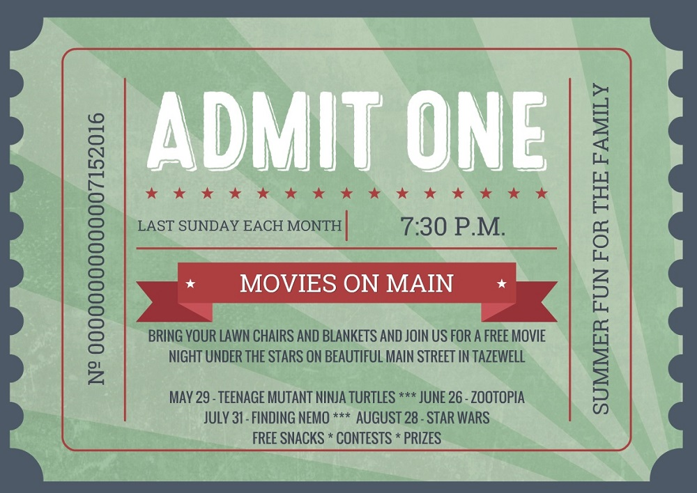 Movies on Main 2016