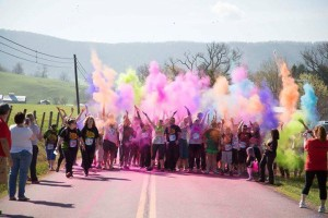 Burkes Garden Colors of Cancer 5k @ Burke's Garden, Virginia