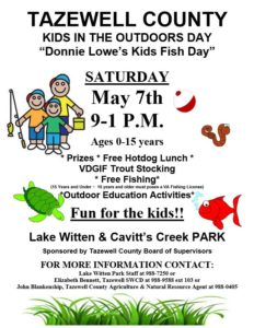 Donnie Lowe Kids Fish Day @ Lake Witten & Cavitt's Creek Park