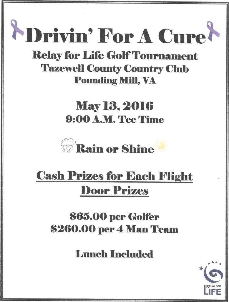 Golf Flyer 2016 Relay