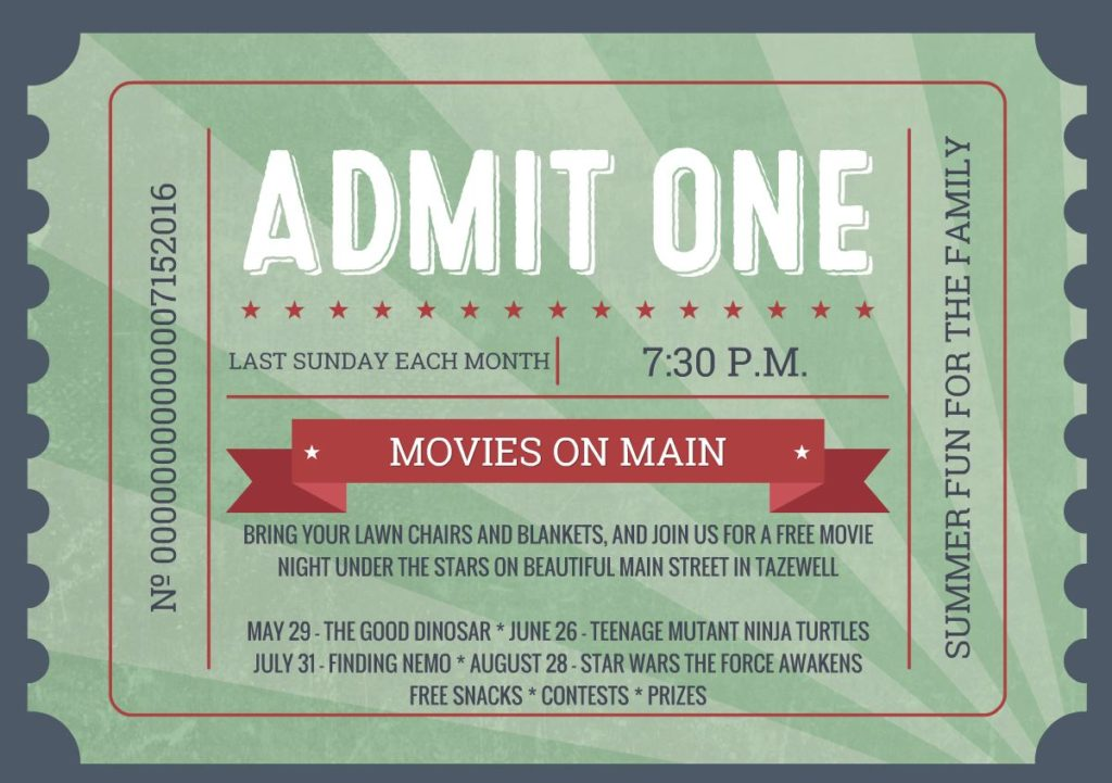 Movies on Main 2016NEW