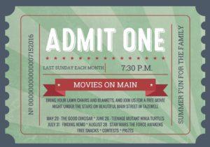 Movies on Main - July @ Main Street