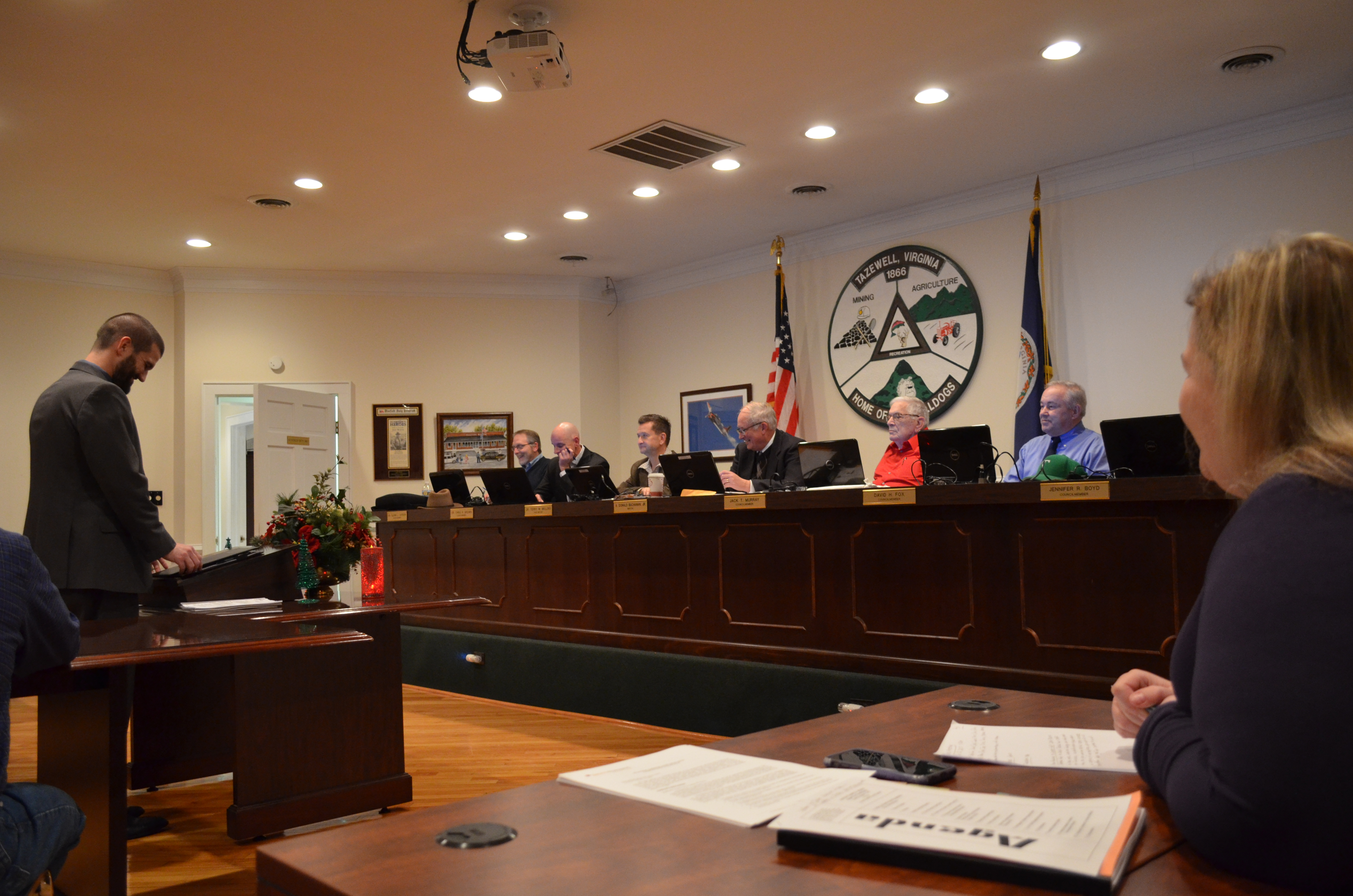 Town Council Meeting December 2017
