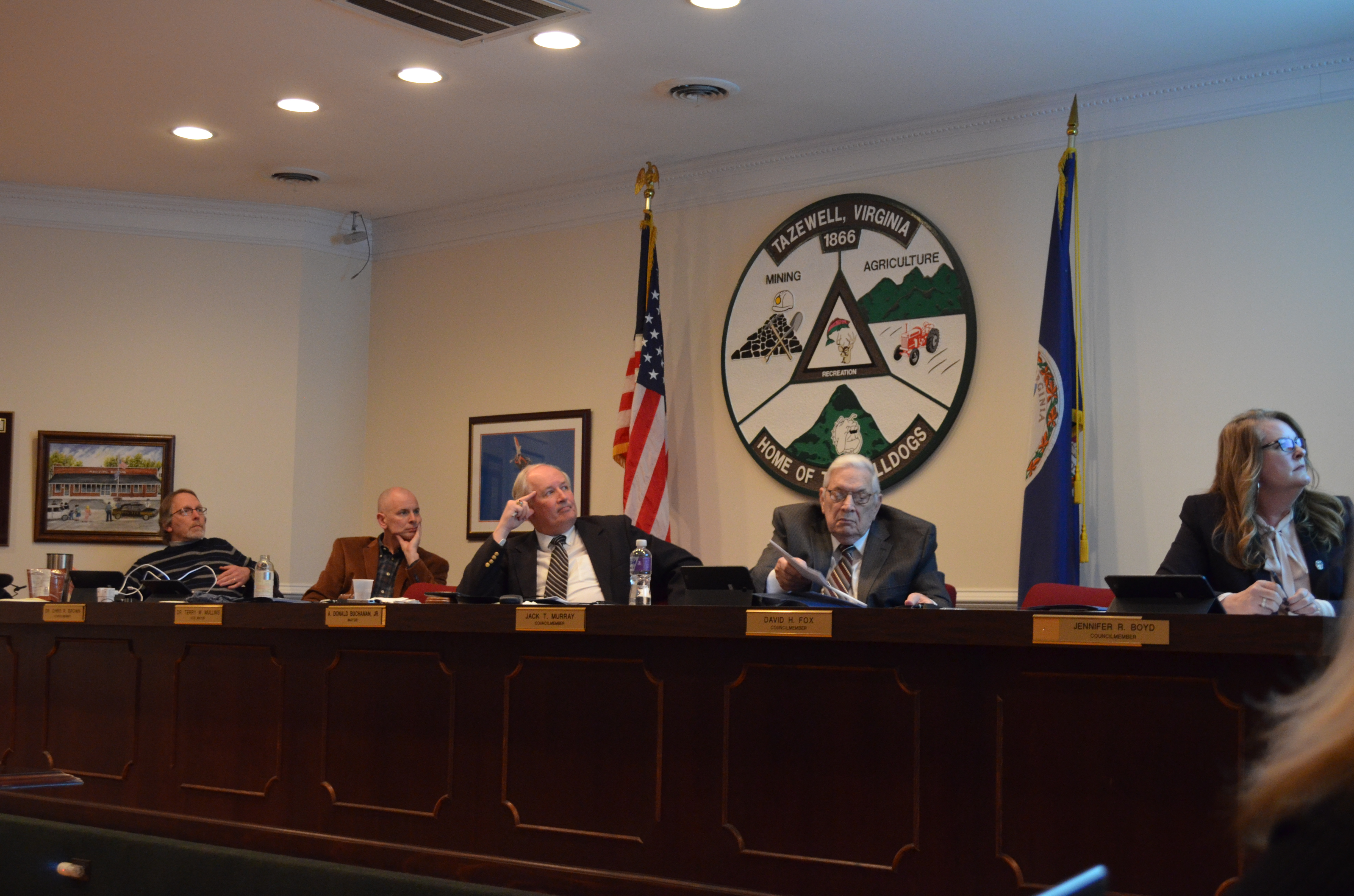 Town Council Meeting March 2018