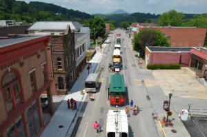 Trucks and Tractors @ Main Street in Tazewell, VA