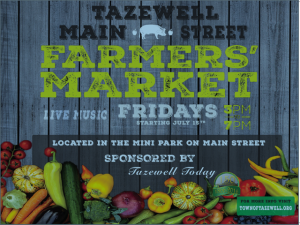 Farmers Market Fridays @ Main Street Mini-Park