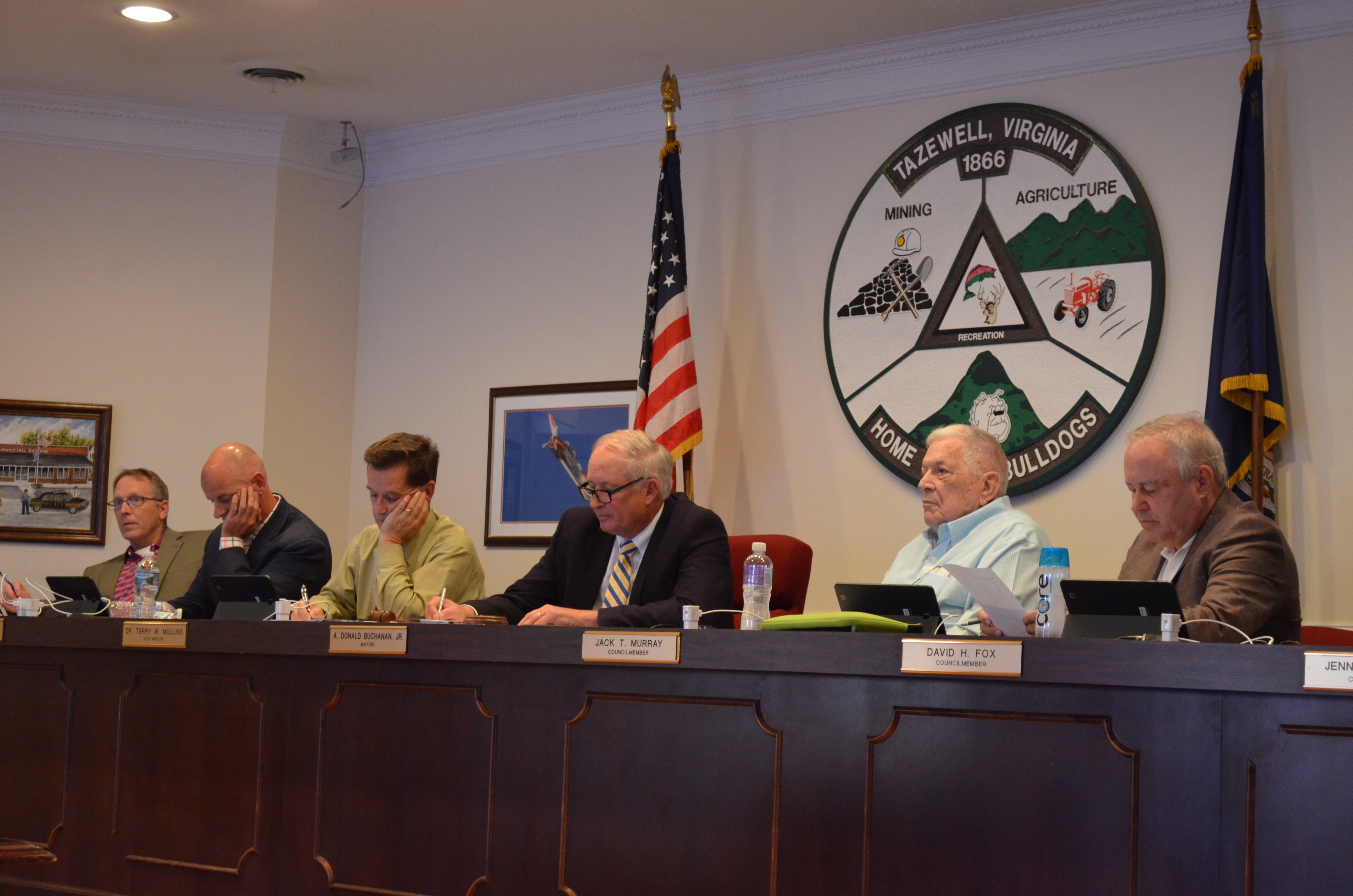 Town Council Meeting 07-2018