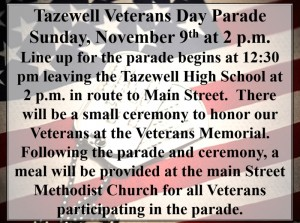 Veterans Day Parade @ Main Street